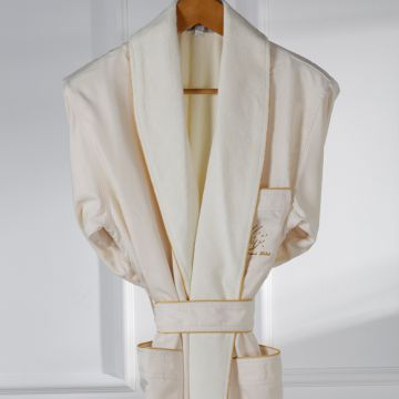 Eliya 100% cotton velour hotel bathrobe for men