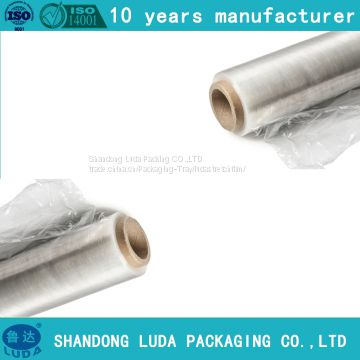 customized machine LLDPE packaging stretch film supply