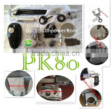 PK80cc bisiklet motor kiti, gasoline engine,2 cycle bicycle engine kit