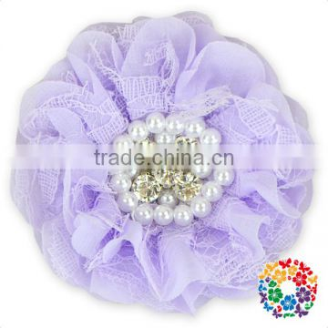 White Fake Rose Cheap Diasy Flower Jewel Artificial Flower