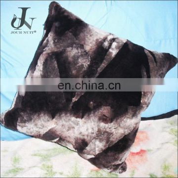 Wholesale Customed Double Face Sheared Sheep Cushion Covers Decorative Fur Pillowcase