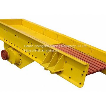 ZSW series biaxial mechanical  vibrating feeder for mineral equipment
