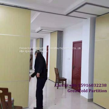 Restaurant Glass acoustic DIY Dubai Movable Partition Wall Walls