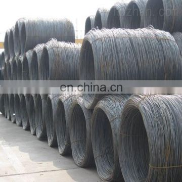 5.5mm 8mm Different sizes good price low carbon steel wire rod price made in China