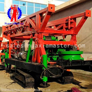 recommend SPJ-400 mobile rotary drill rigs machine / mill water well drilling rig hydro-engineering rig