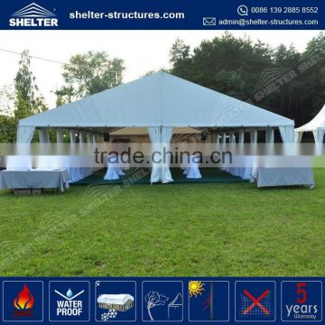 Top Selling Aluminum Alloy Frame Tent 9x18 With Tent Accessories