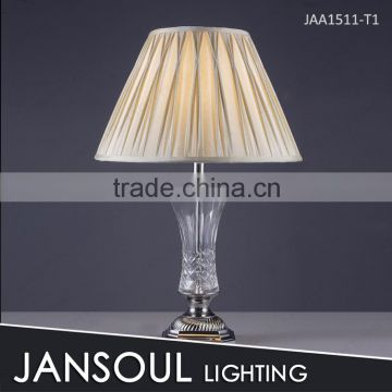 factory sell traditional rustic chrome table lamp