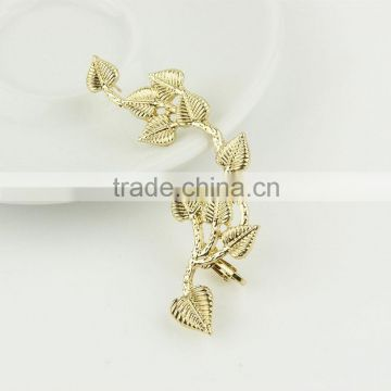 Gold plated ear cuff latest products in market