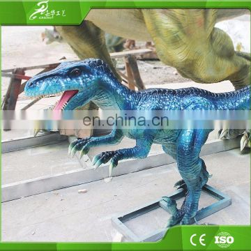 KAWAH Hot-Selling Playground Equipment Dinosaur Silicon Rubber 3D Dinosaur Model For Dinosaur Park