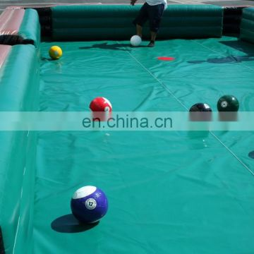 inflatable snooker soccer ball, inflatable football Billiards
