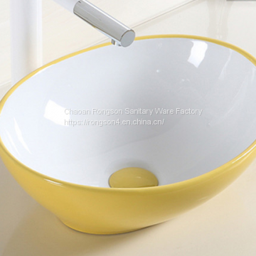 Beautiful color Art Basin Table Top Wash Basin