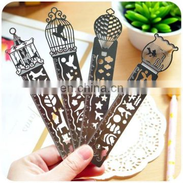 factory price etched custom bookmarks with tassels