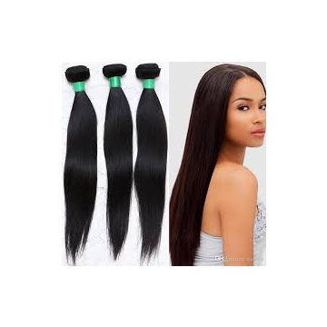Full Head  12 Inch Russian  Clip Silky Straight In Hair Extension 100% Human Hair