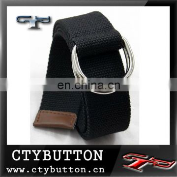 (CTY-B-035) custom canvas belts for women/man