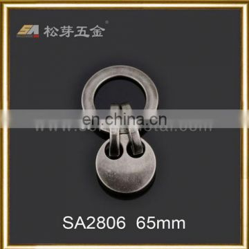 metal star jeans zipper OEM design metal puller for jacket,jeans zipper-SA2865