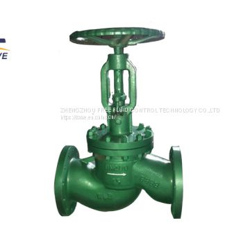 Power Plant Steam Flange Vacuum Globe Valve