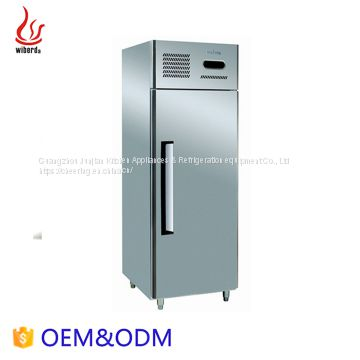Commercial Stainless steel 2-Doors Freezers in refrigeration equipment with fan cooling