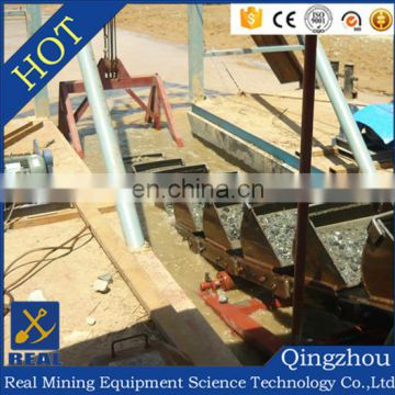 Chain bucket iron powder gold mining ship