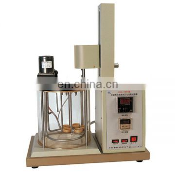 SYD-7305A Petroleum and synthetic fluids Anti emulsifying property Test apparatus