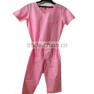 hospital quality doctor's uniform for kids/children medical scrub suits sets uniforms/baby nursing dress uniform for costume kid