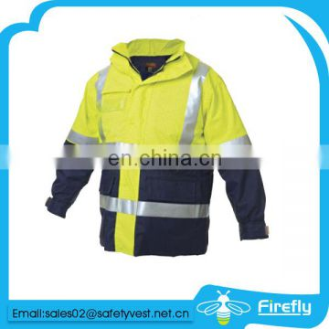 waterproof road safety jacket workwear