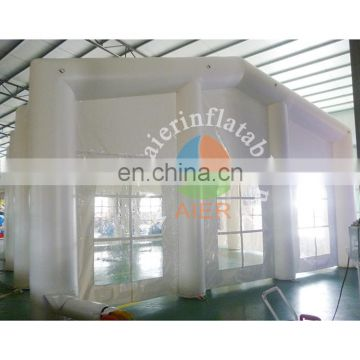 Most pupular high quality pvc tarpaulin inflatable yurt tent white pop up tent outdoor inflatable tent for sale