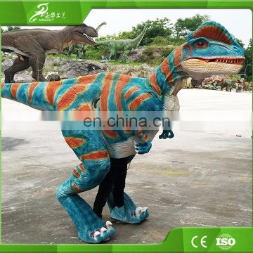 KAWAH Wholesale Popular Attractive Customized Dilophosaurus Dinosaur Costume for sale