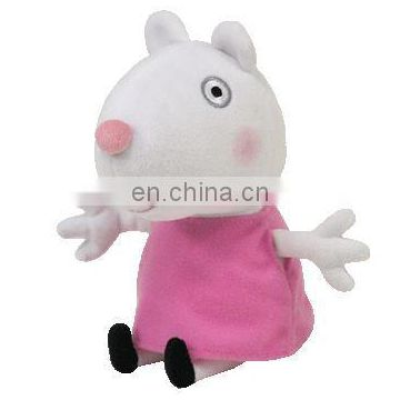 Little child model funny plush pink mouse toy 2017 Shenzhen Umay Gift