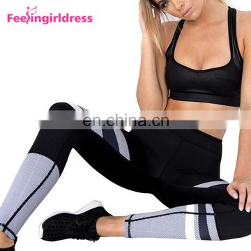2017 Oem Black Tights Woman Fitness Pants Yoga Pants Leggings