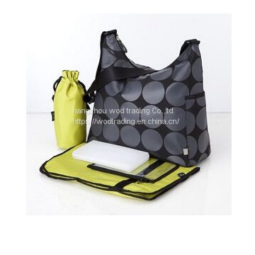 Full printed hobo diaper bag with long shoulder from China