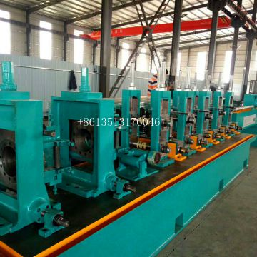 high frequency steel tube welded production line pipe making machinery