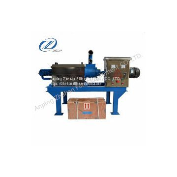 Good quality automatic poultry waste dewatering machine