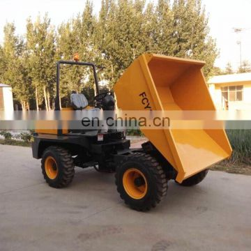 Transportation Machinery 4WD 7ton Hydraulic Site Dumper