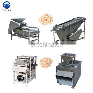 almond hazelnut nut cracker machine peanut peeler electric bean slicer