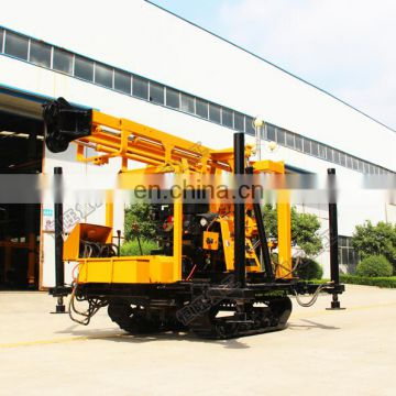 percussion crawler mobile water well drilling rig for sale in japan