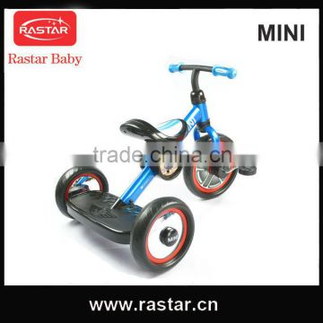2016 RASTAR MINI licensed New product 10 inch 3 wheel mini baby tricycle