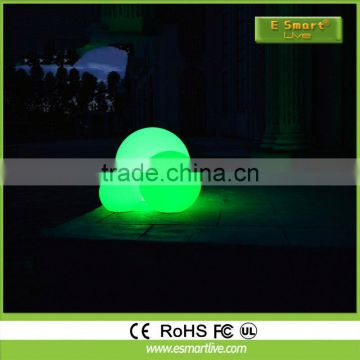 LED modern PE decorative cube glowing PE small cube led flower pot garden led ball light