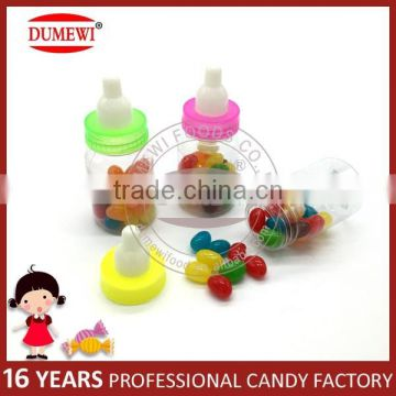 Multi-Color Fruit Flavor Jelly Bean Candy in Nipple Bottle
