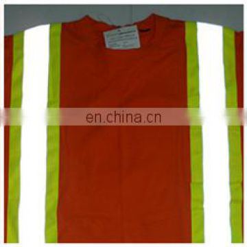 High visibility new design cheap reflective safety T- shirt