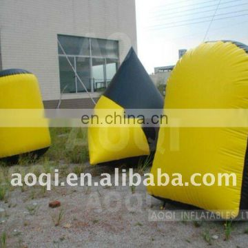 3/5/7 man sealed field inflatable paintball bunker
