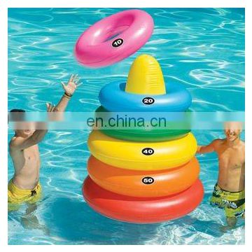 inflatable Swim line Giant Ring Toss