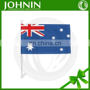 Wholesale Custom Size Different Poles National Australia Car Flag
