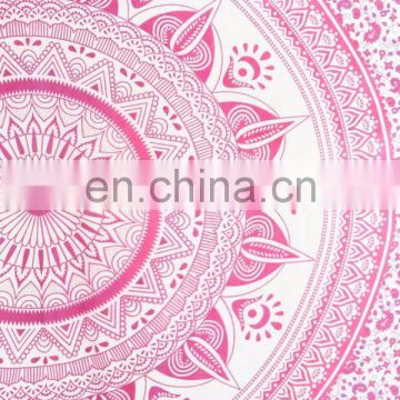Hippie Ombre Mandala Indian Bedspread Boho Tapestry Bohemian Wall Hanging Tapestry Queen Wall Hanging picnic Decor art Wholesale