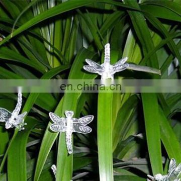 Plastic Butterfly Hair Claw Clip In Garden Ornament Butterfly &Dragonfly Orchid Clip in Garden Tools