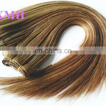high quality cheap human hair extensions mixed color 4/27 piano color hair weave