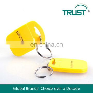 Beautiful Design 13.56MHZ RFID NFC Key with Iron Ring