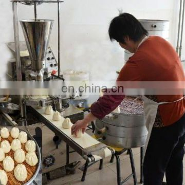 High Efficiency New Design Steamed Stuffed Bun Machine/baozi making machine/automatic encrusting and forming machine