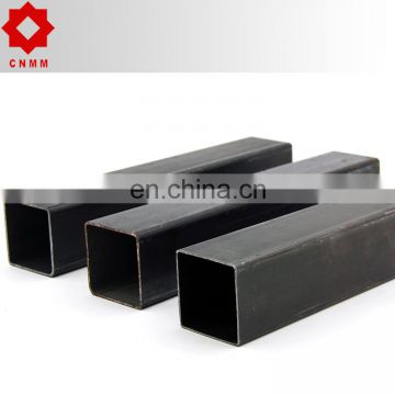 manufacturer green house high quality square steel pipe or hollow section steel square steel tubing