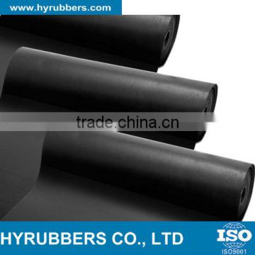 Qingdao hyrubbers manufacturer of high quality silicone sbr nbr rubber sheet