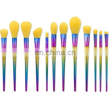 Fashion Colorful Eye Shadow Brush Power Brush Flat Head Brush